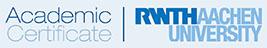 Academic Certificate | RWTH AACHEN UNIVERSITY